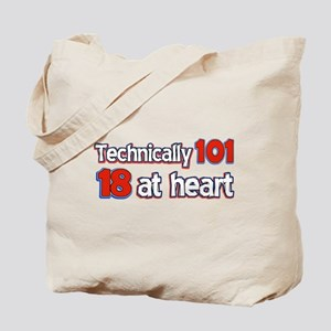 101 year old designs Tote Bag