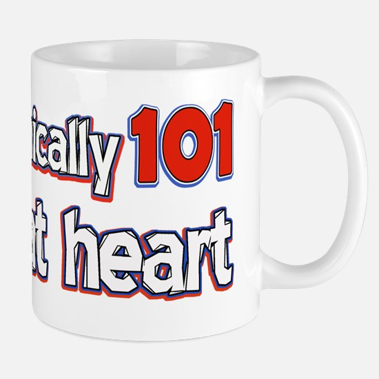 101 year old designs Mug