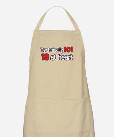 101 year old designs Apron