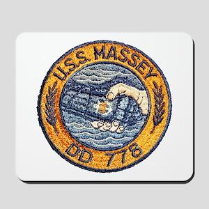 USS MASSEY Mousepad