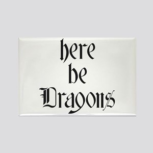 Here Be Dragons 001a Magnets
