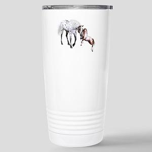 Horses Love Forever Travel Mug