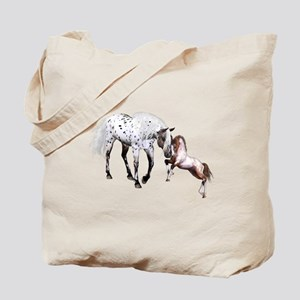 Horses Love Forever Tote Bag