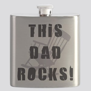 This Dad Rocks Flask