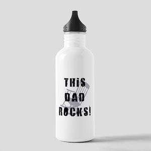 This Dad Rocks Water Bottle