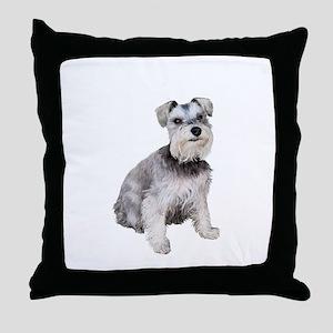 Schnauzer (ZS) Throw Pillow