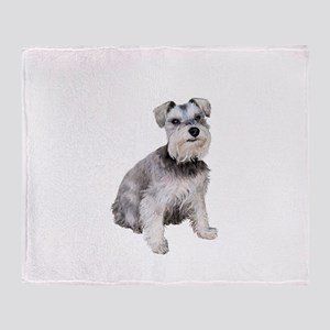 Schnauzer (ZS) Throw Blanket