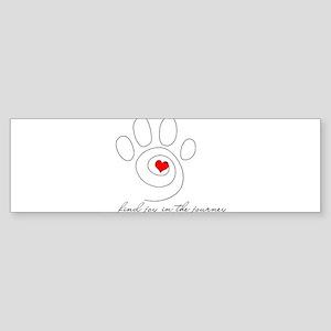 find joy in the journey Bumper Sticker