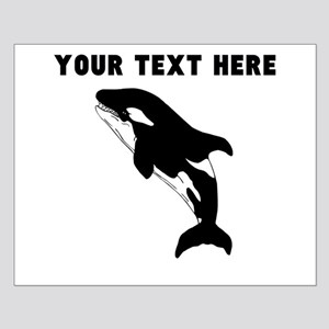 Custom Orca Whale Posters