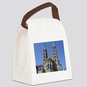 Catherdral at Bamberg Germany Canvas Lunch Bag
