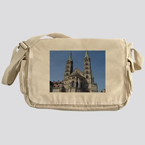 Catherdral at Bamberg Germany Messenger Bag