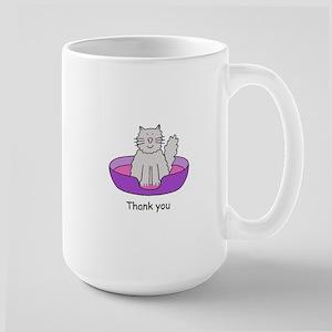 Thanks for cat sitting. Mugs