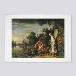 Pieter Lastman - Tobias Catches the Fish - 1613 -
