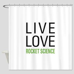 Rocket Science Shower Curtain