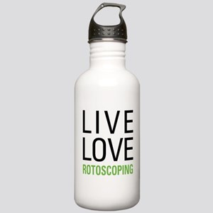 Rotoscoping Stainless Water Bottle 1.0L