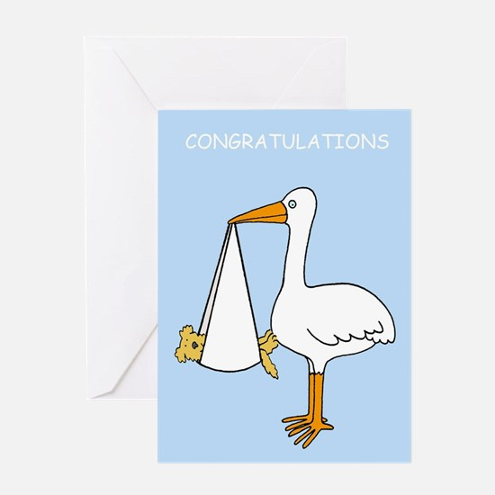 Congratulations on new pet dog. Greeting Cards