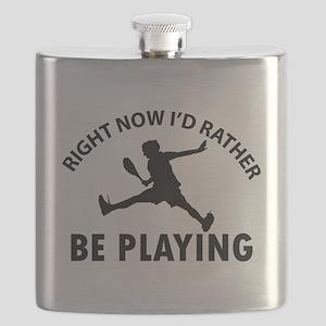 Squash playing designs Flask
