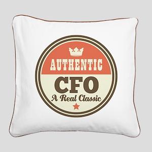 Authentic CFO Square Canvas Pillow