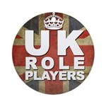 UK Role Players Ornament (Round)