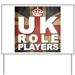 UK Role Players Yard Sign
