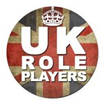 Uk Role Players Round Car Magnet
