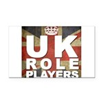 UK Role Players Rectangle Car Magnet