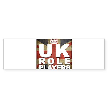 UK Role Players Bumper Sticker