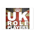 UK Role Players Postcards (Package of 8)
