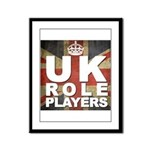 UK Role Players Framed Panel Print