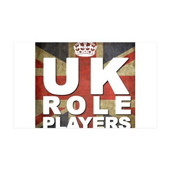 UK Role Players Wall Decal