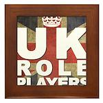 UK Role Players Framed Tile