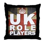 UK Role Players Throw Pillow