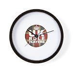 UK Role Players Wall Clock