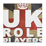 UK Role Players Tile Coaster