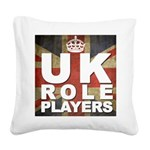UK Role Players Square Canvas Pillow