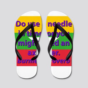 Do Use A Needle In Time Flip Flops