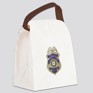 Hickory Police Canvas Lunch Bag