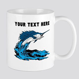 Custom Blue Marlin Mugs