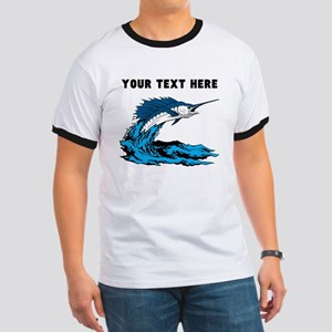 Custom Blue Marlin T-Shirt