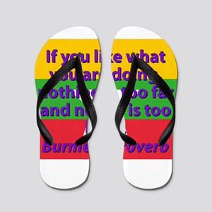If You Like What You Are Doing Flip Flops