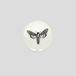 Deaths-head Hawkmoth Mini Button