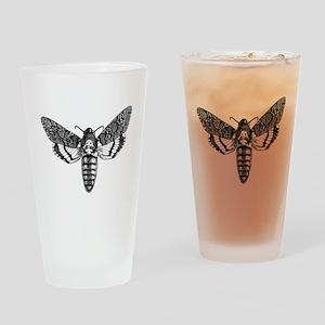 Deaths-head Hawkmoth Drinking Glass