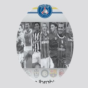 Poster of player Paris-Saint Germain Oval Ornament