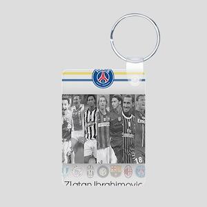 Poster of player Paris-Sai Aluminum Photo Keychain