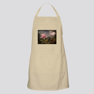 Cattleya Orchid and Hummingbirds Apron