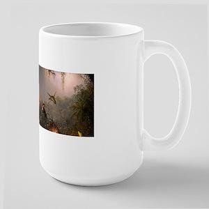 Cattleya Orchid and Hummingbirds Mugs