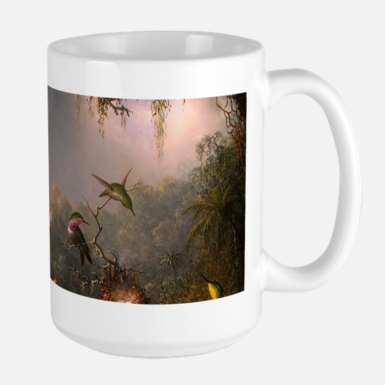 Cattleya Orchid and Hummingbirds Mugs