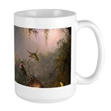 Cattleya birds Large Mugs (15 oz)