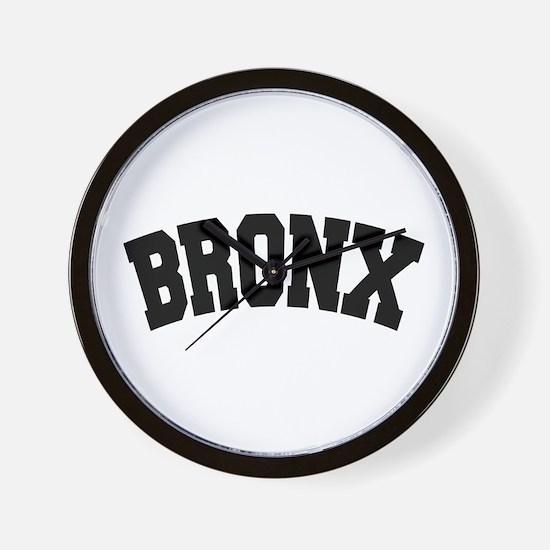 BRONX, NYC Wall Clock