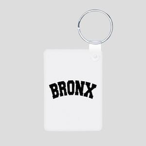 BRONX, NYC Aluminum Photo Keychain